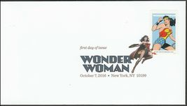 US 5149-5152 Wonder Woman (set of 4) DCP FDC 2016 image 5