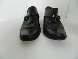 Mens Kenneth Cole New York Black Leather Buckle Dress Shoes Size 8 Made ... - $39.99