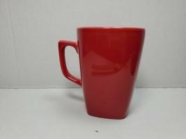 Aida Aroma Red Square Coffee Cup Mug - $16.42
