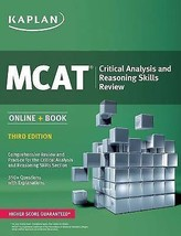 MCAT Critical Analysis and Reasoning Skills Review: Online + Book - $13.03