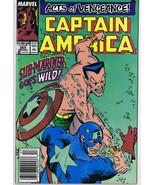 Captain America #365 ORIGINAL Vintage 1989 Marvel Comic Book Sub Mariner - $9.89