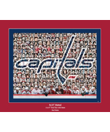 Washington Capitals Mosaic Print Art  Designed Using Past & Present Play... - $40.00+
