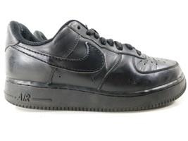 Nike Air Force 1 '07 Size 9.5 M (D) EU 41 Women's Sneakers Shoes Black 315115