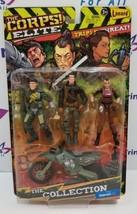 The Corps! Elite Triple Threat RAIN, DOZER & PUMA by Lanard Toys  - $8.59