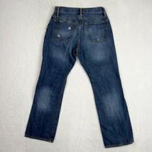 Gap Men's 30x29 Jeans Standard fit Straight Blue Wash Distressed Denim C... - $21.25
