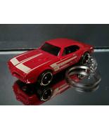 1967 Firebird 400 Key Chain Ring Dark Red - $15.19