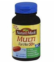 Nature Made Mini Multi For Her 50 Plus 60 CT (Pack of 3) + (Vitaminder P... - $98.85