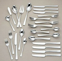 Gorham Argento 45 Piece Stainless Flatware Service For 8 Shiny Finish New - $159.90