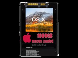 macOS Mac OS X 10.13 High Sierra Preloaded on 1000GB Solid State Drive - $199.99