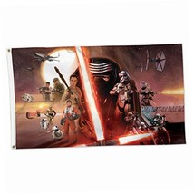 WinCraft Star Wars Episode VII Deluxe Flag, Multicolor, 3' x 5' - $16.43