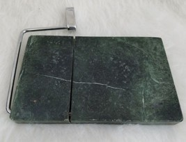 "Green Marble Cheese Slicer Board Server Serving Cutter 8"" x 5"" Heavy  - €11,20 EUR"