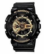 New in a Box Men Casio G-Shock Black & Gold GA110GB-1 - $70.08