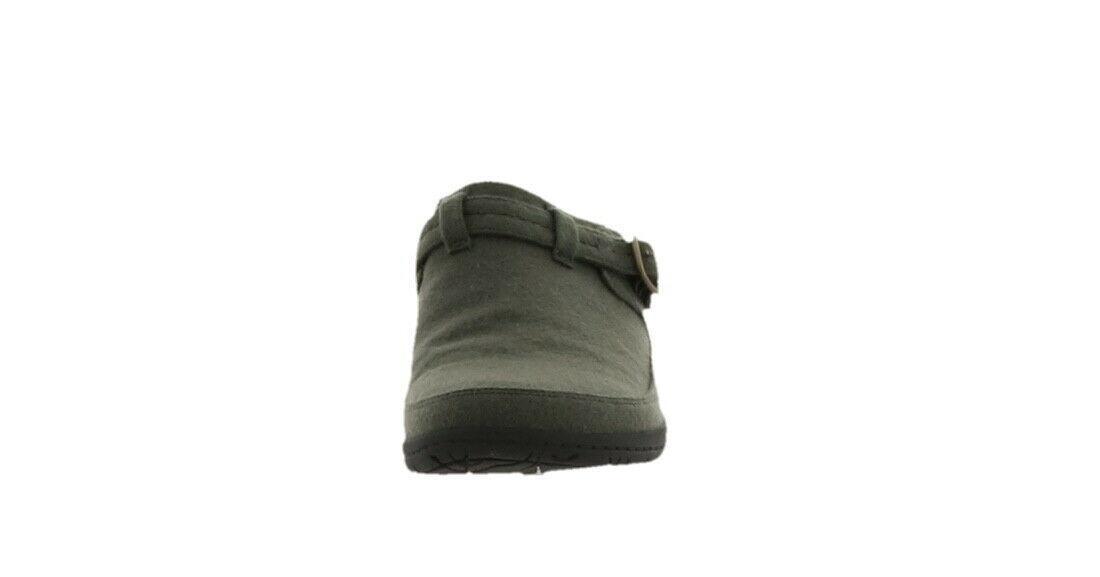 Merrell Wool Slip-on Clogs Encore Kassie Buckle Wool Olive 10M NEW A342944