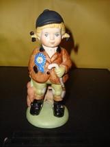 The Franklin Mint U. N. Children Ann from England 1978 Porcelain Figurine EX  - $9.09