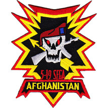 US Army 5th Battalion 19th Special Forces Group Afghanistan Patch 4x5.5'         - $13.85