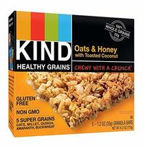 KIND Healthy Grains Bars Healthy Grains Bars - Oats & Honey with Toasted... - $19.50