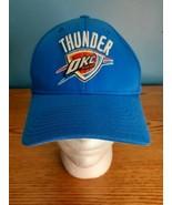 Oklahoma City OKC Thunder NBA Adidas Flex Fit Hat Cap Size OSFM  - $14.80