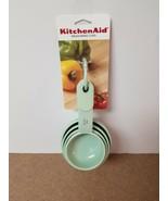 KITCHENAID PISTACHIO 4 CUP SOFT GRIP MEASURING CUP SET - $10.00