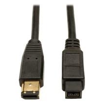 Tripp Lite FireWire 800 IEEE 1394b Hi-speed Cable (9pin/6pin) 6-ft.(F017... - $26.99