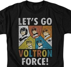 Voltron t-shirt Let's Go Voltron Force retro animation graphic tee DRM115B image 2