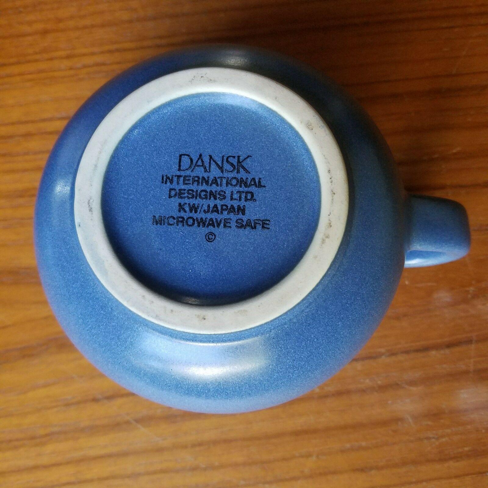Dansk Mesa Sky Blue Creamer and Sugar Bowl and 50 similar items