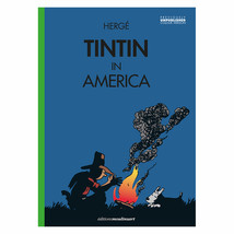 Tintin in America colorized english hardcover version - Campfire New & Sealed