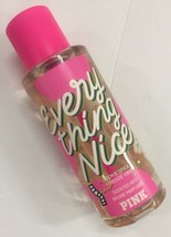 VICTORIA'S SECRET PINK EVERYTHING NICE FRAGRANCE BODY MIST SPRAY 8.4 Oz New - $13.66