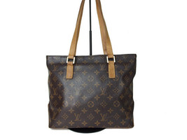 Authentic LOUIS VUITTON CABAS PIANO Monogram Canvas, Leather Shoulder Ba... - $6.923,80 MXN