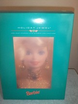 Barbie Holiday Jewel 1995 Holiday Porcelain Barbie Collection  #26 - $75.00