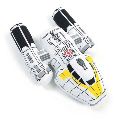 "Star Wars The Clone Wars Y-Wing Fighter Bomber Vehicle Plush 7"" Toy 74194 3+ Yrs, used for sale  USA"