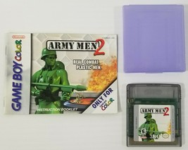 MI) Army Men 2 (Nintendo Game Boy Color, 2000) Video Game Cartridge Tested Works - $9.89