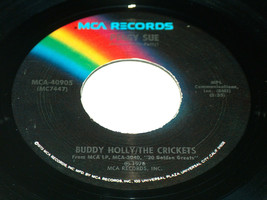 45 RPM Buddy Holly / Crickets Peggy Sue, Matter Any More MCA Record 4090... - $9.88