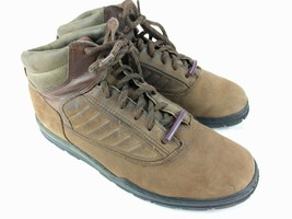 TIMBERLAND Leather Suede Boots Womens Sz 9.5 M Brown Shoes Euro Hiker - $37.36