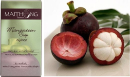 100g Mangosteen Soap Natural Anti-Oxidant Protects Skin Face from Acne & Rash - $7.85