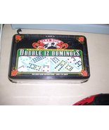 Game Room Double 12 Dominoes in a Tin - $33.17