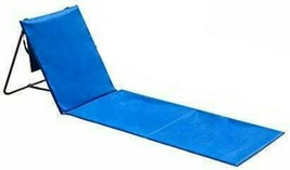 Beach Chair Outdoors 1 Pack Lounger Park Camping Picnic Seat compact&lig... - $9.90