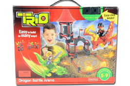 Fisher Price Trio Dragon Battle Arena New Sealed - $196.35