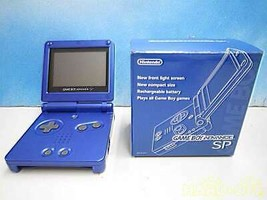 Nintendo Game Boy Advance Sp As Light Blue Management No.1898 Xjh10800493 - $254.09