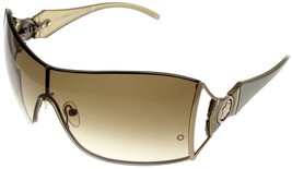 Mont Blanc Sunglasses Women Brown Bronze Wrap MB282S 34F - $246.51