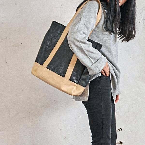 On Sale, Full Grain Leather Bag, Tote Bag, Large Shoulder Bag, Shopping Bag
