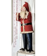 "Antique Santa Christmas Decor 7"" Marked Japan - $27.99"