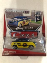 Disney Pixar Cars Piston Cup Race Official Tom - $3.00