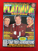 Starlog Platinum Edition Magazine Vol. # 5 1995 Star Trek Generations X ... - $2.96