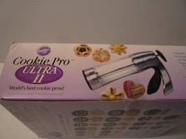 Wilton Cookie Pro Ultra II World's Best Cookie Press12 Disks + 4 Bonus ... - $14.85