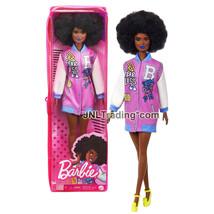 Year 2020 Fashionistas Doll #156 African American Barbie GRB48 in Fearle... - $29.99