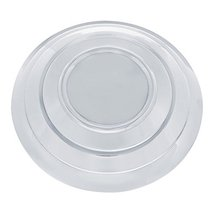 United Pacific Polished Stainless Steel Smooth Without Logo Hubcap for 1932 Ford - $26.49