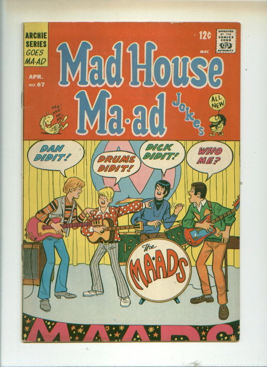 Comic mad