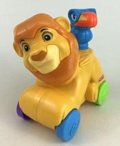 Rollin Tunes Musical Mufasa and Zazu Disney Fisher Price Amazing Animals Lion - $12.42