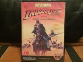 Indiana Jones and the Last Crusade (Sega Genesis, 1992) Game & Case - $29.98