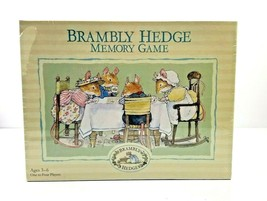 New Briarpatch Brambly Hedge Memory Game Jill Barklem - 2000 - Factory S... - $24.99